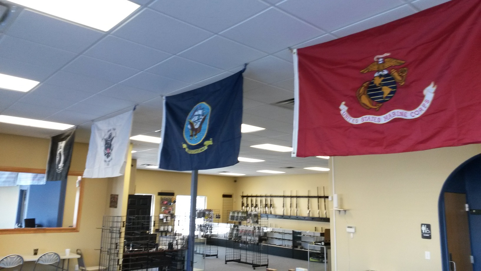 Air Force & Navy Flags
